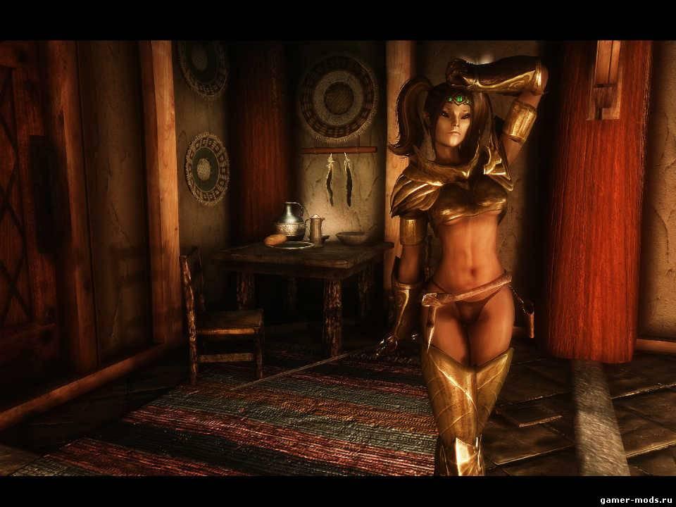 Сексуальный реплейсер женской брони для unp