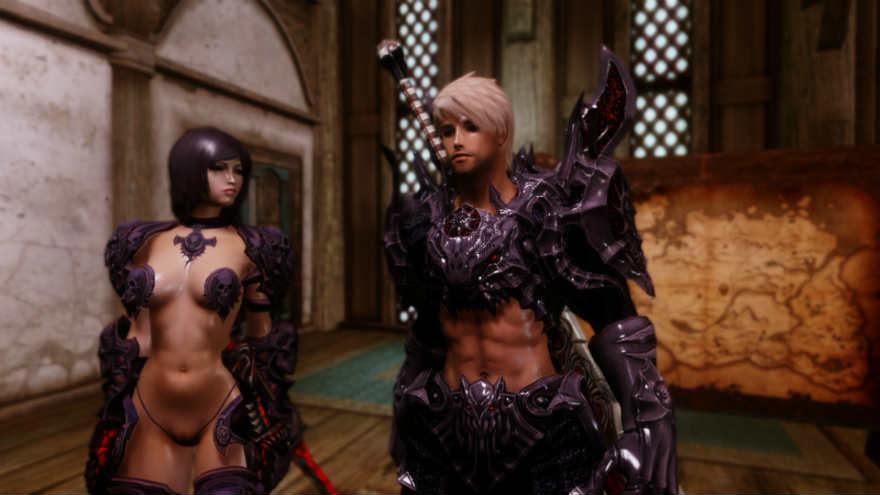 Skyrim сексуальная броня элениум
