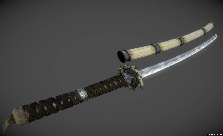 Скачать мод на меч жало для скайрим