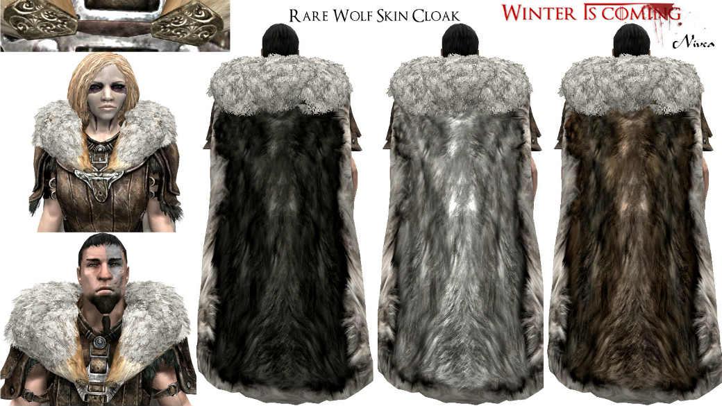 Зима близко зимние плащи / winter is coming cloaks броня.