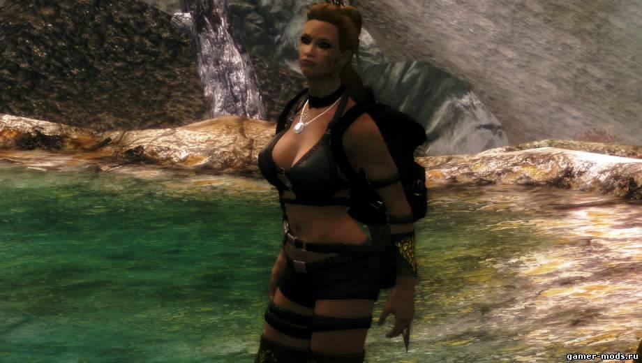 Мод для сексуальной брони для женщин для skyrim
