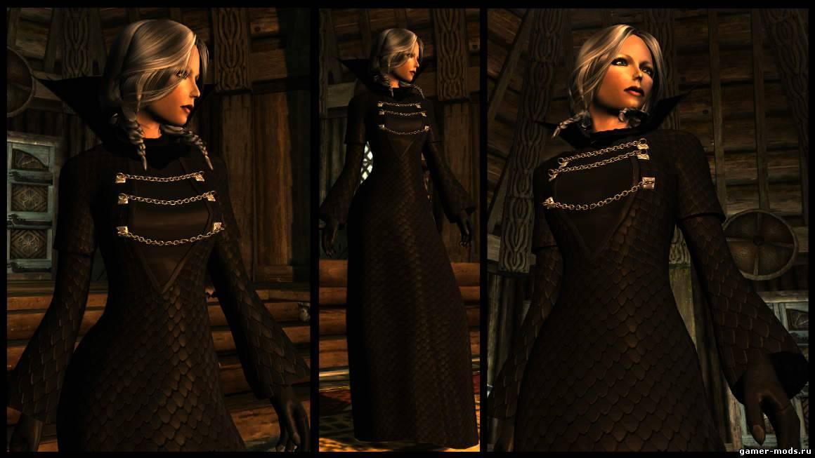 Скайрим платья королевы