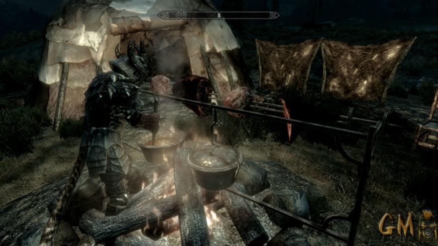 скачать мод на скайрим на свой лагерь