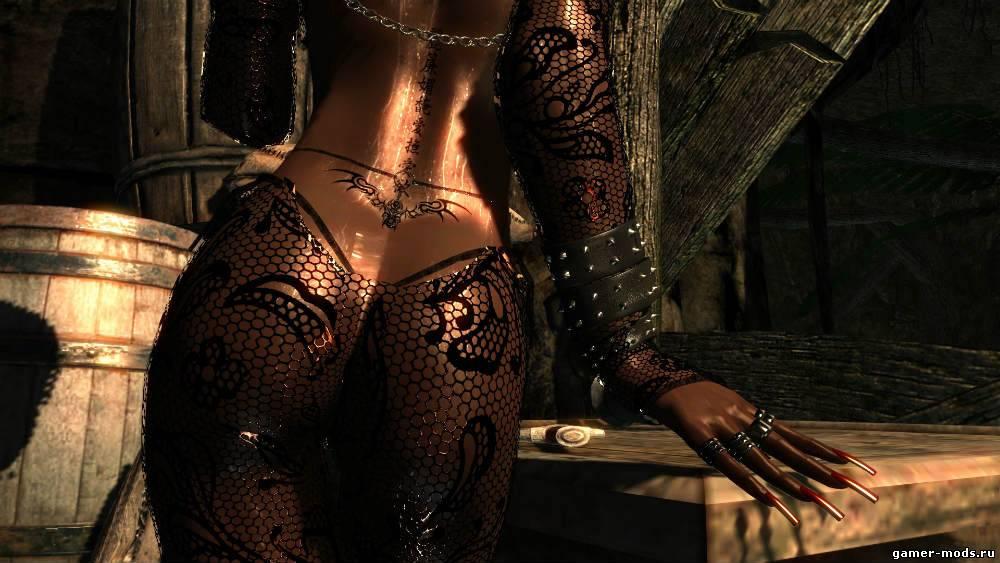 how to make serana naked in skyrim se