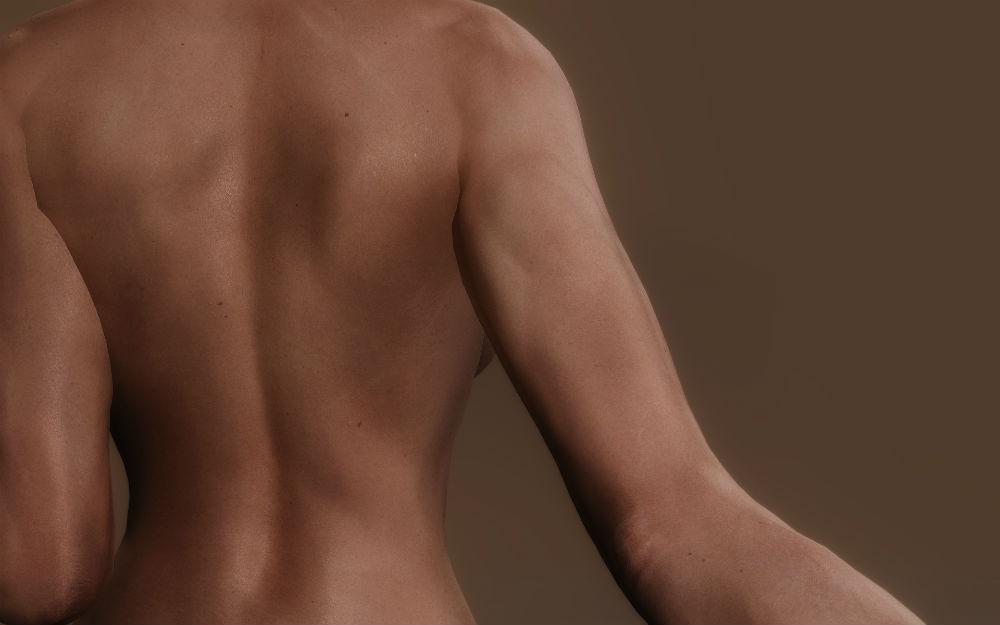 скачать мод на скайрим на текстуры тела
