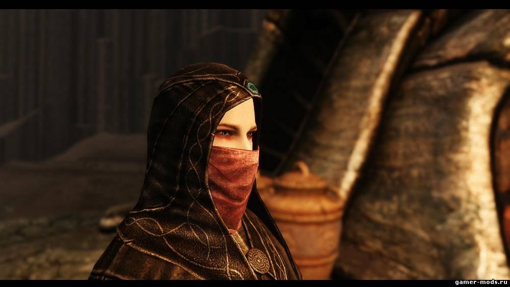 Скачать мод на скайрим на маски на лицо