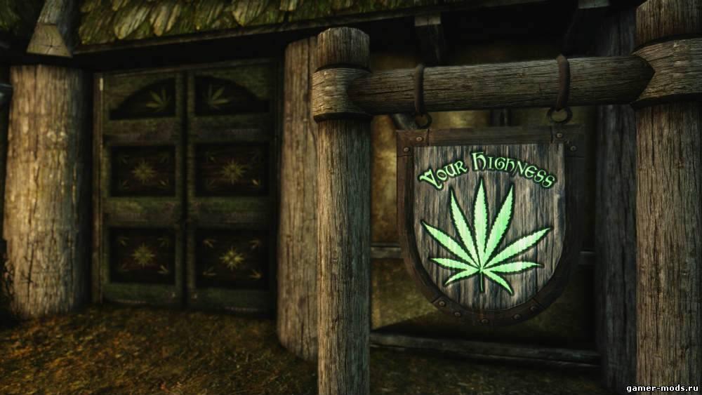Мод для скайрима конопля ст линда марихуана скачать