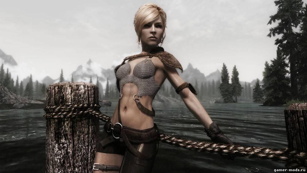 Skyrim сексуальная броня изгоев