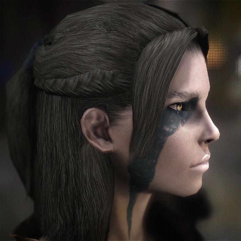 Моды на Скайрим Ретекстур Волос