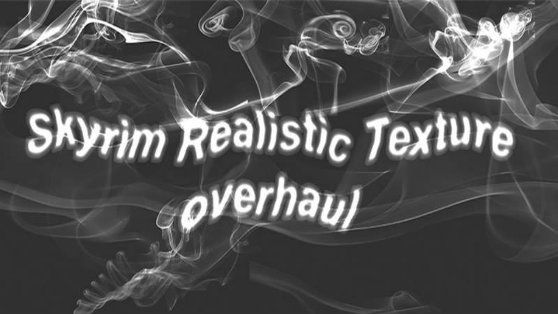 Реалистичные текстуры ландшафта / Skyrim Realistic Texture - Графика