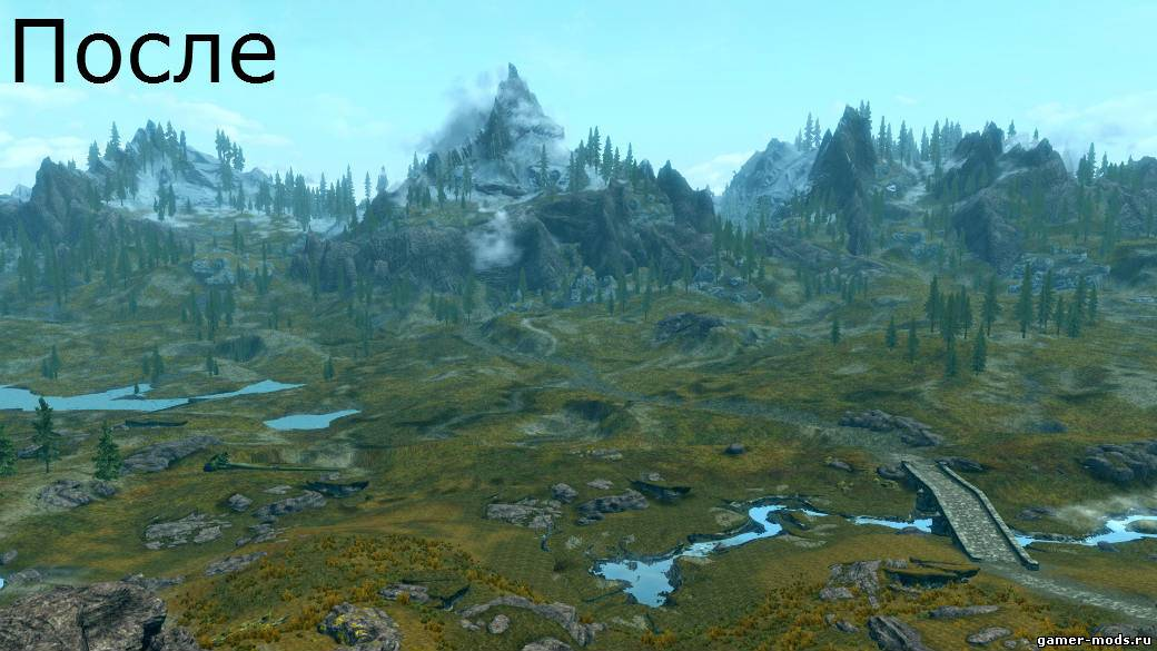 Morrowind мод на Дальность Прорисовки