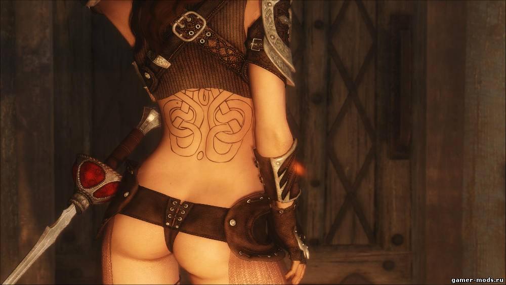 сексуальная броня для скайрим мод-нб2