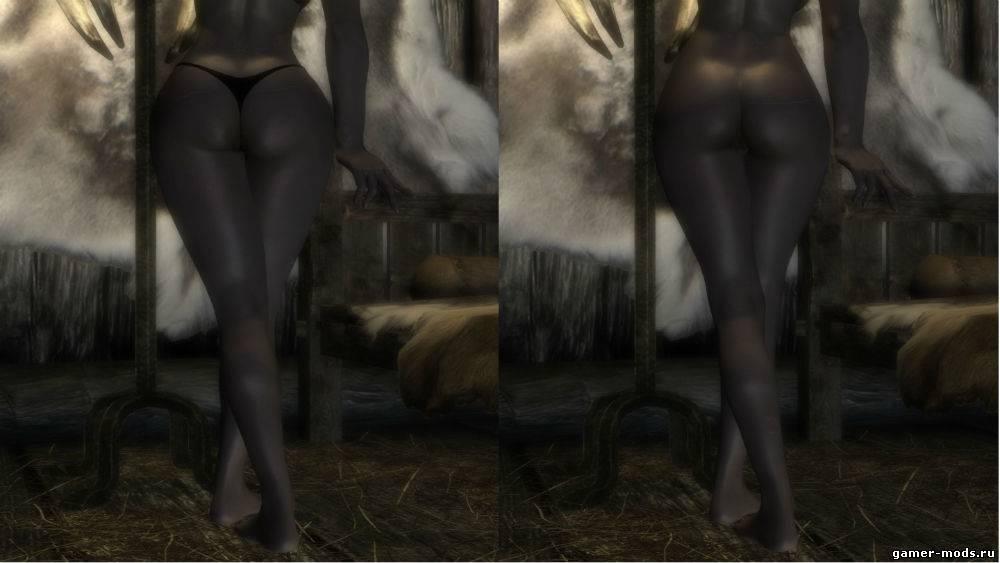 скачать моды на скайрим на скелет - фото 3