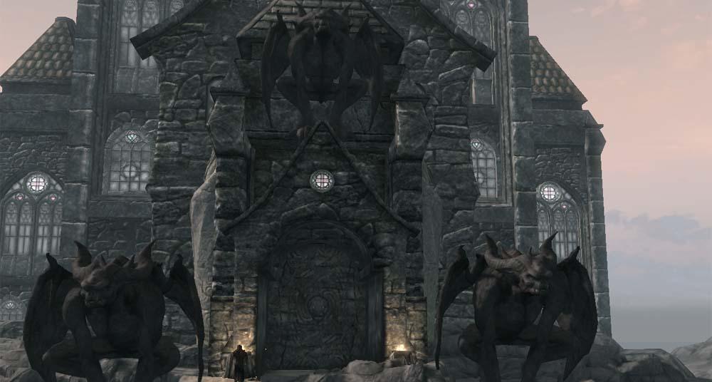 скачать мод на скайрим на замок волкихар - фото 8
