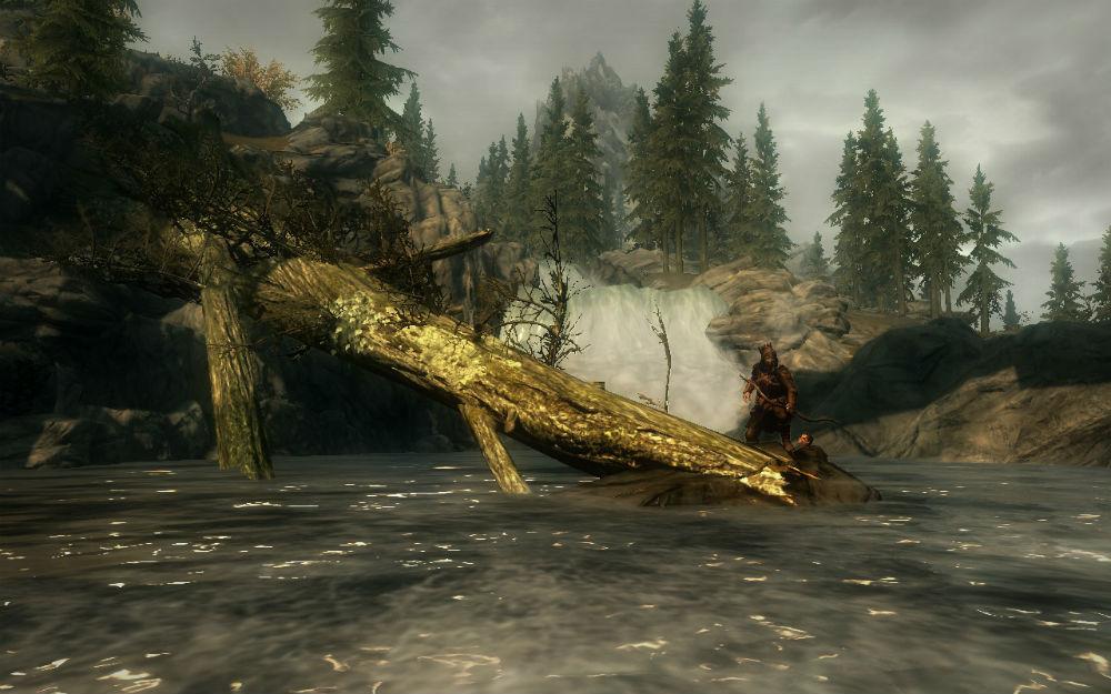 Скачать бесплатно мод поваленные деревья