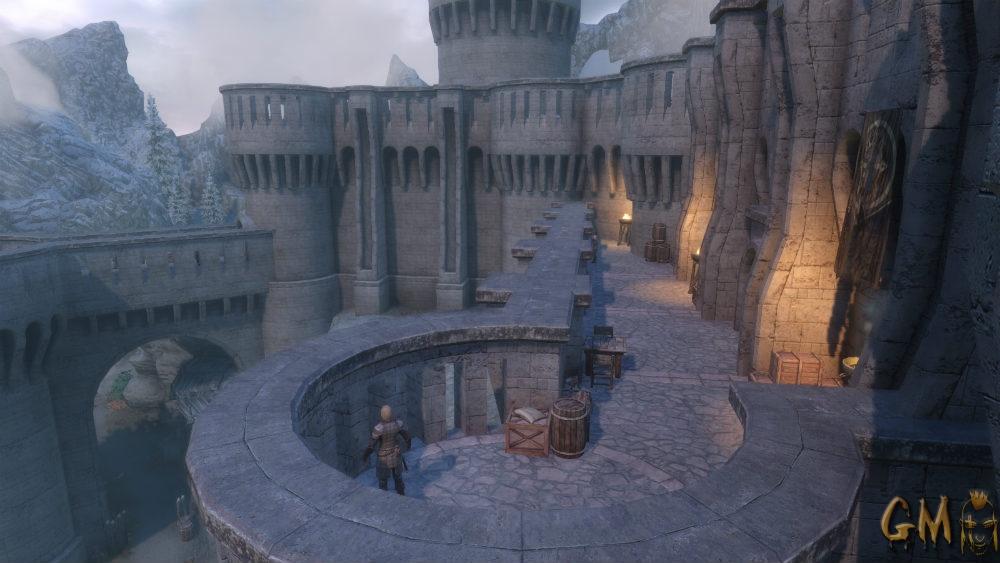 скачать мод на скайрим на замок волкихар - фото 9