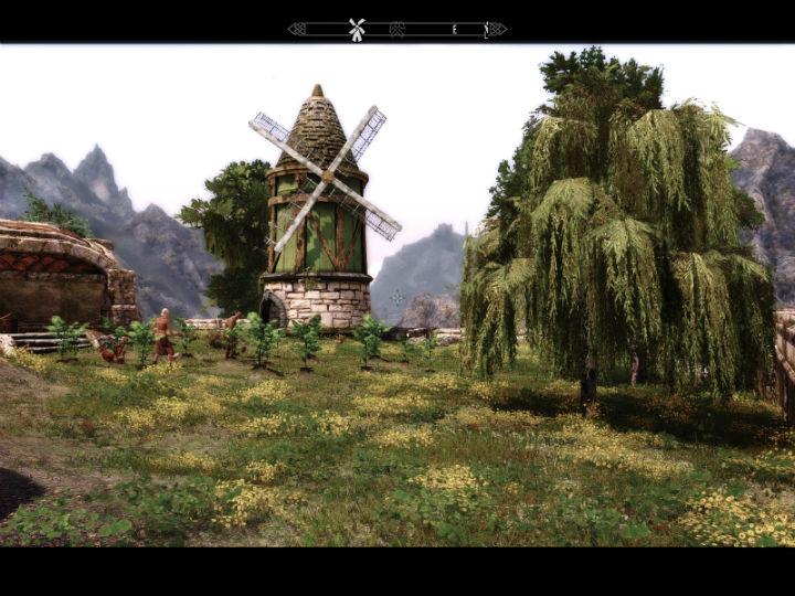 Флора Тамриэля - деревья / Tamriel Reloaded Trees 2.1 для TES V: Skyrim - Скриншот 1