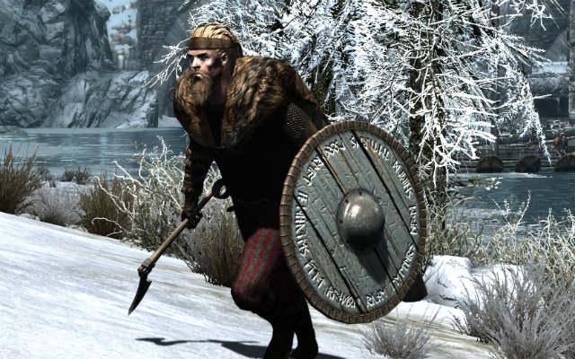Скайрим мод на Броню Викингов