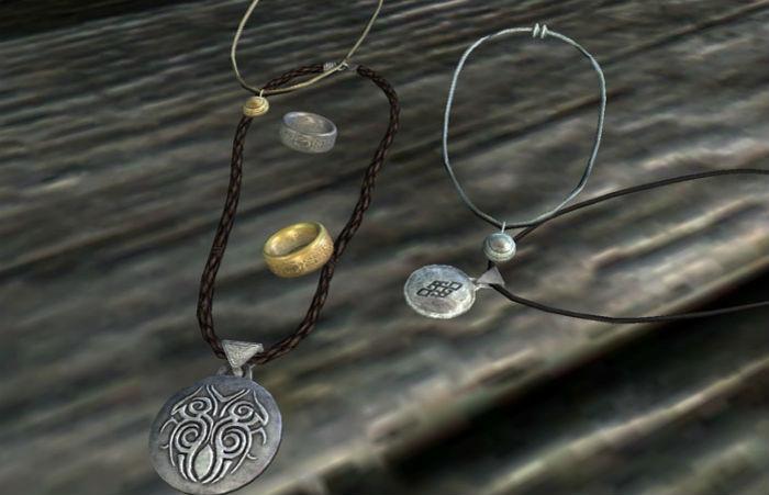 Амулеты скайрима amulets of skyrim амулет город