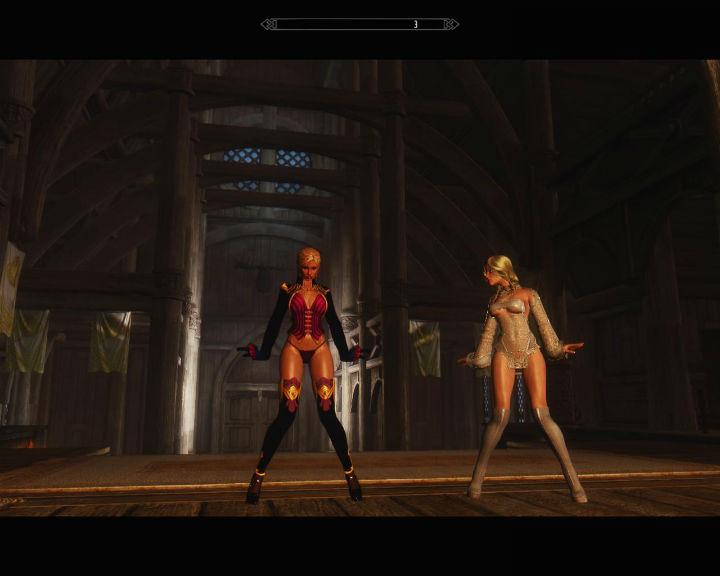 скачать мод танцы в скайриме - фото 2
