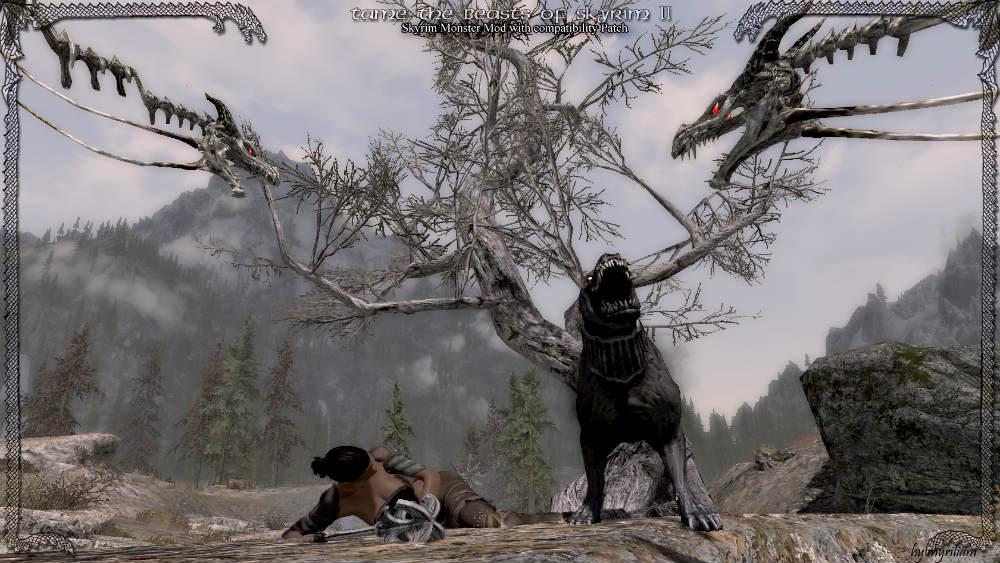 Скачать мод на приручение дракона на скайрим