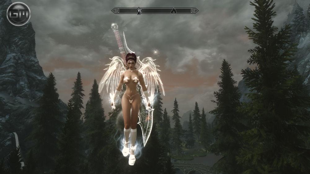 скачать мод на скайрим раса ангелов - фото 7