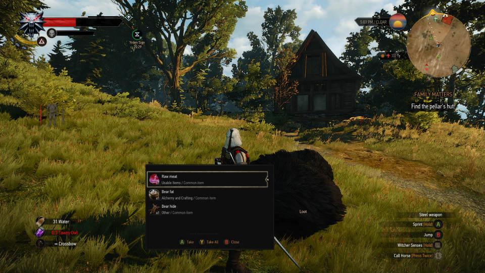 Увеличение добычи с существ / Increased Creature Loot для The Witcher 3: Wild Hunt - Скриншот 2