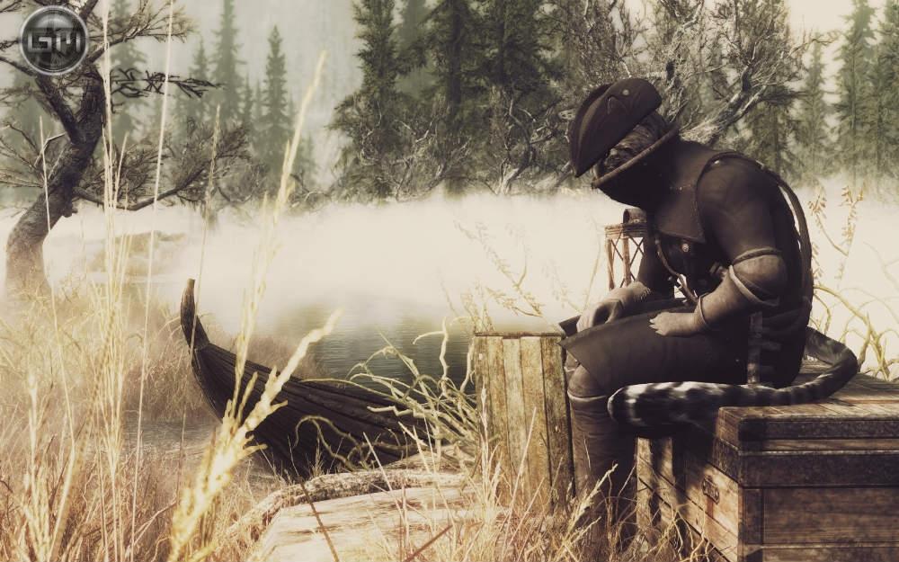 Броня Ярнамского охотника / Yharnyam Set 0.4 для TES V: Skyrim - Скриншот 3