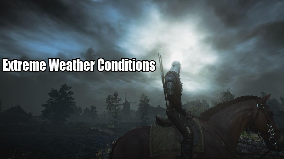 Экстремальная погода / Extreme Weather Conditions для The Witcher 3: Wild Hunt - Скриншот 1
