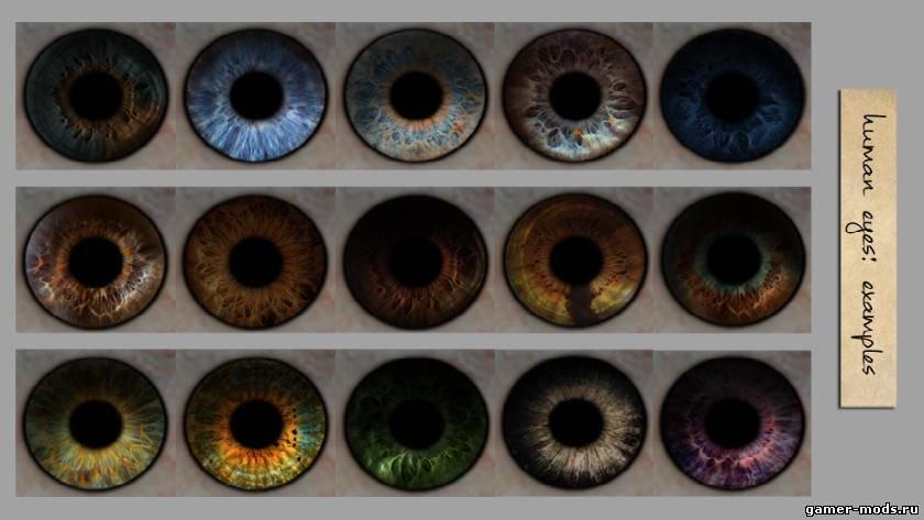 Улучшенные глаза Скайрима / Improved Eyes Skyrim