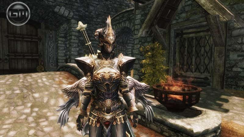 скачать мод на скайрим на броню рыцаря тьмы - фото 7