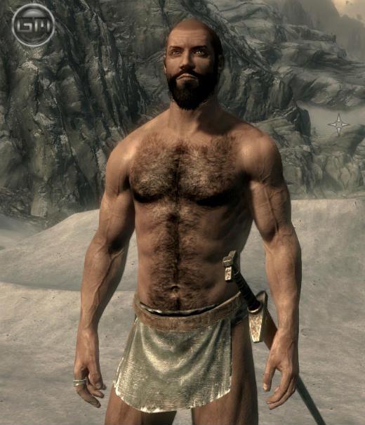 Волосатая грудь у мужчин