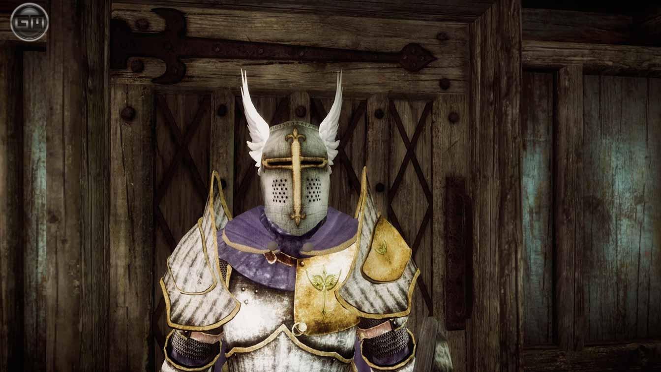 Доспехи паладина / Paladin Armor 3.0 для TES V: Skyrim - Скриншот 3