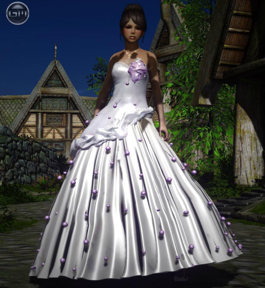 Свадебное платье для skyrim
