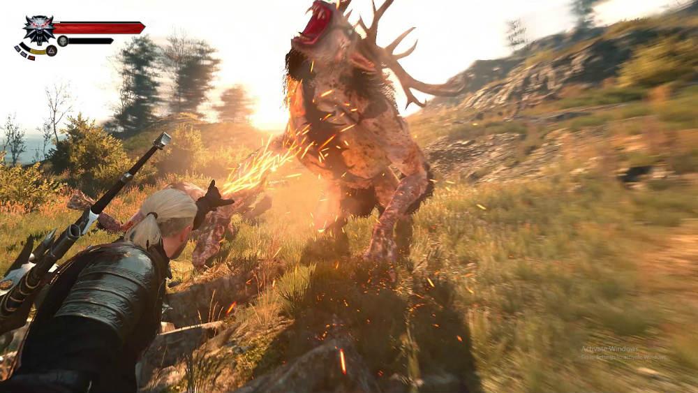Захватывающий бой / Immersive Combat 2.0 для The Witcher 3: Wild Hunt - Скриншот 1