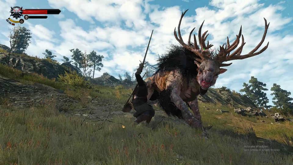 Захватывающий бой / Immersive Combat 2.0 для The Witcher 3: Wild Hunt - Скриншот 2