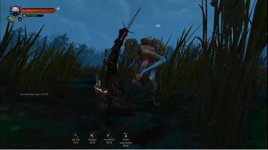 Захватывающий бой / Immersive Combat 2.0 для The Witcher 3: Wild Hunt - Скриншот 3