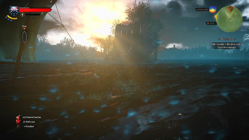 Познавательное мореплавание / Sightseeing Sailor 1.0 для The Witcher 3: Wild Hunt - Скриншот 1