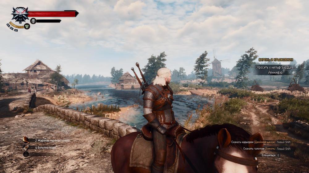 Конные экскурсии / Horseback Sightseeing 1.01 для The Witcher 3: Wild Hunt - Скриншот 2