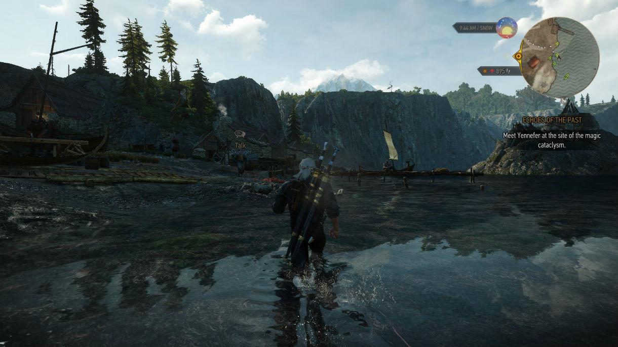 Брызги воды / SPLASH 1.0 для The Witcher 3: Wild Hunt - Скриншот 3