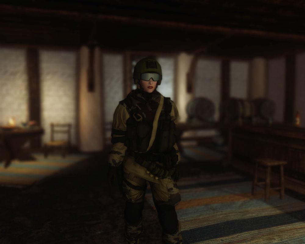 скачать мод на скайрим на военную броню - фото 2
