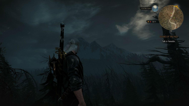Погода для Ведьмак 3 - дождь и снег / WEATHER 2.0 для The Witcher 3: Wild Hunt - Скриншот 1