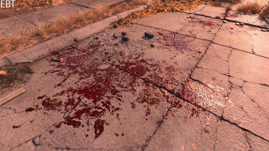 скачать моды на скайрим 5 на кровь и раны - фото 4