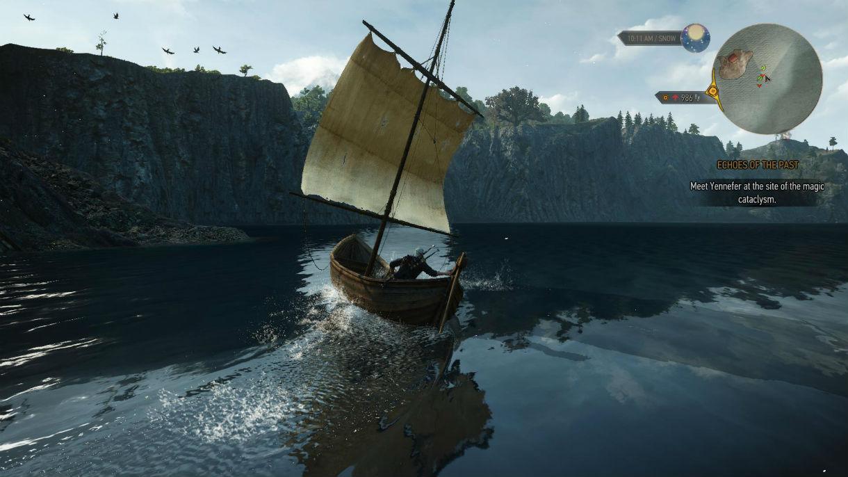 Брызги воды / SPLASH 1.0 для The Witcher 3: Wild Hunt - Скриншот 2