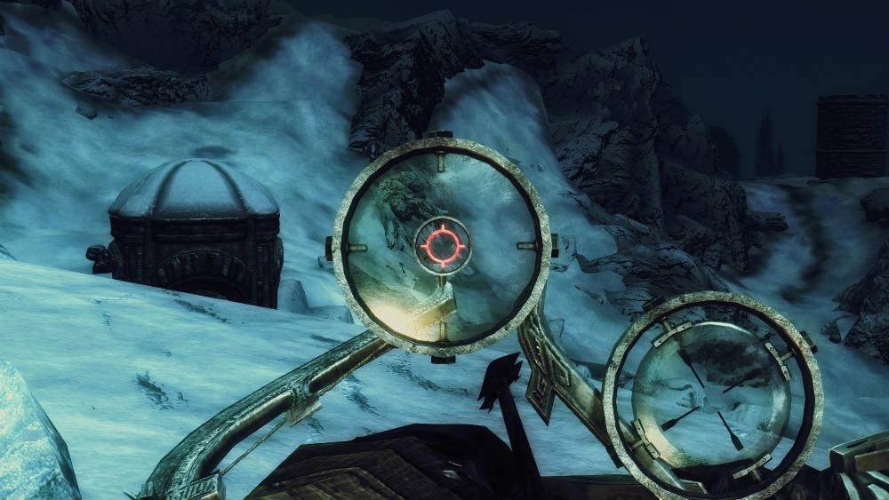 Луки с оптическим прицелом / scoped bows оружие skyrim le.