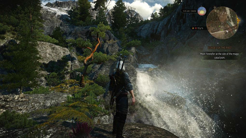 Брызги воды / SPLASH 1.0 для The Witcher 3: Wild Hunt - Скриншот 1