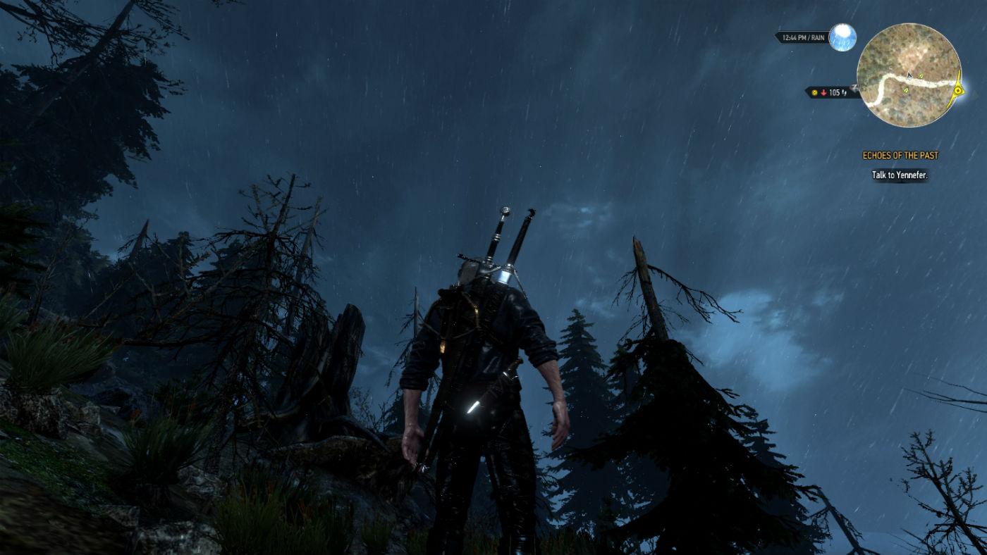 Погода для Ведьмак 3 - дождь и снег / WEATHER 2.0 для The Witcher 3: Wild Hunt - Скриншот 2