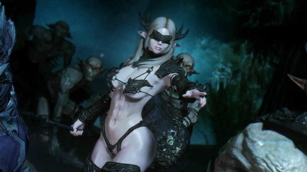 Falmer Bikini Armor