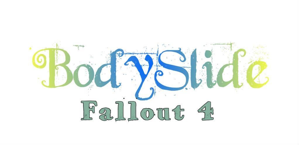 BodySlide and Outfit Studio для Fallout 4 - Инструментарий