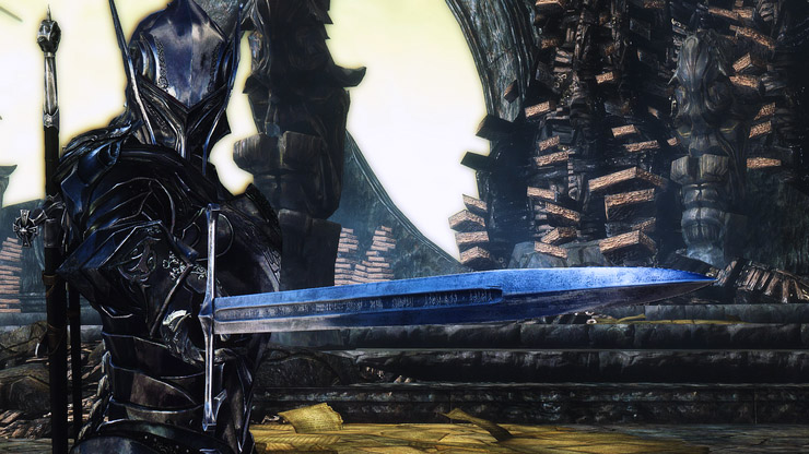 Skyrim ebony armor mod